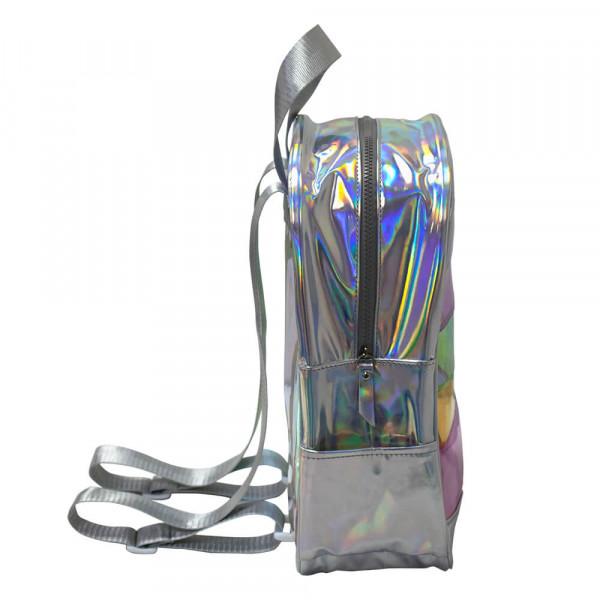 Mochila Cristal Translúcido e Holográfico Breeze - DAC