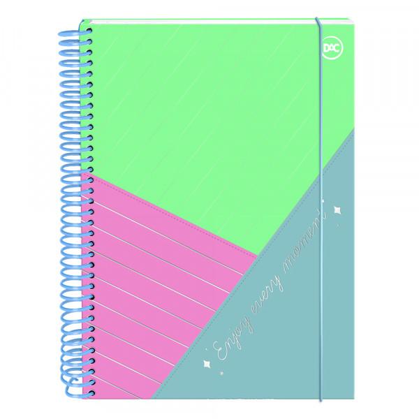 Caderno Enjoy Colegial Com 160 Folhas Dac