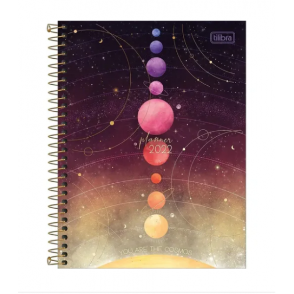 Planner Magic 2022 Espiral M7 - Tilibra