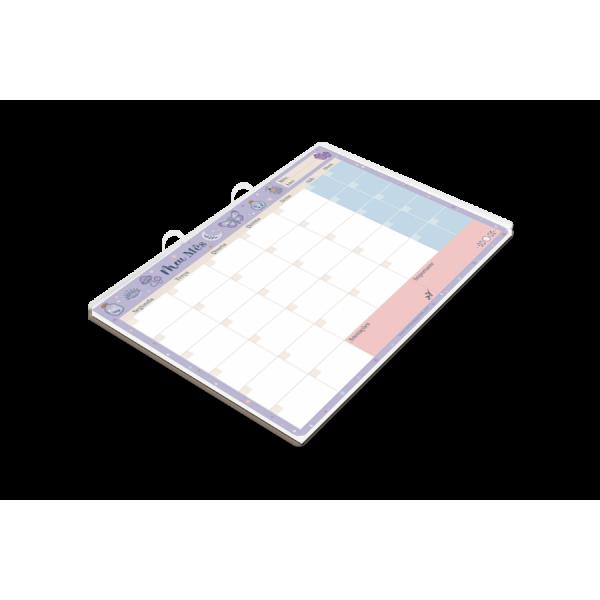 Planner Mensal Místico - Cartões Gigantes