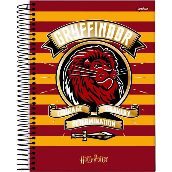 Caderno Universitário Harry Potter - 10 Matérias...
