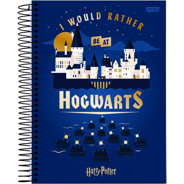 Caderno Universitário Harry Potter - 10 Matérias - Jandaia