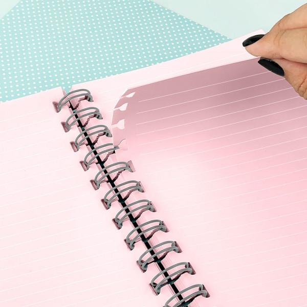Caderno Smart com Folhas Tira e Põe - Listras Dac