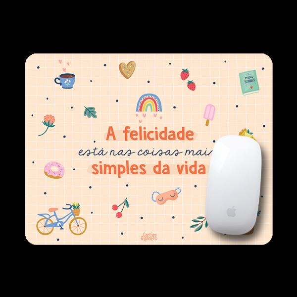 Mousepad Happy - Cartôes Gigantes