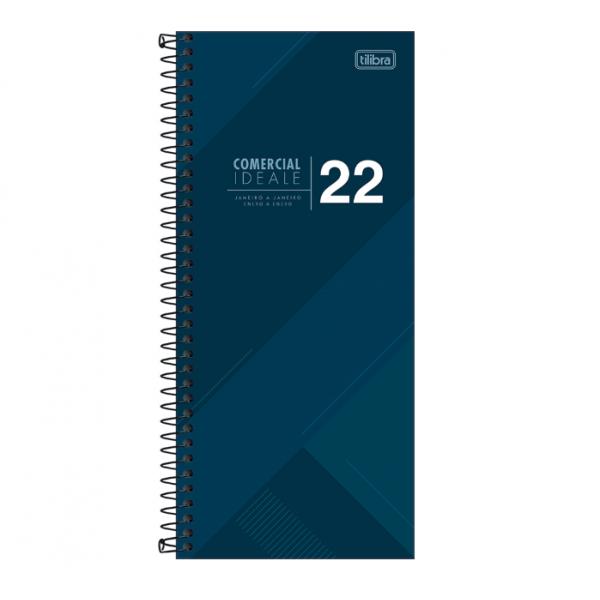 Agenda Comercial Ideale 2022 Espiral - Tilibra