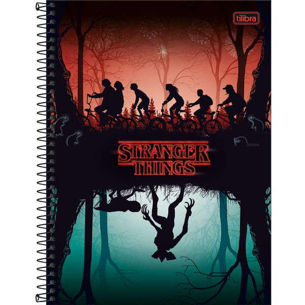 Caderno Stranger Things 1 Matéria - Tilibra