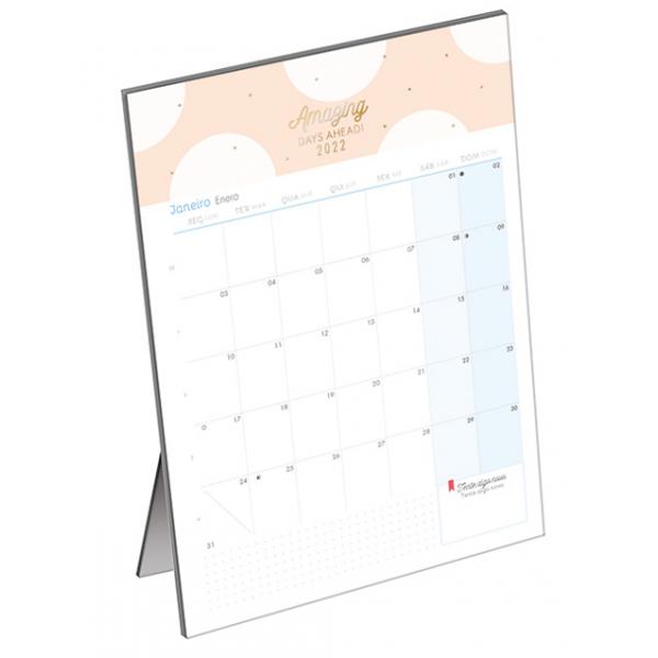 Calendário 2022 Soho Planner de Mesa - Tilibra