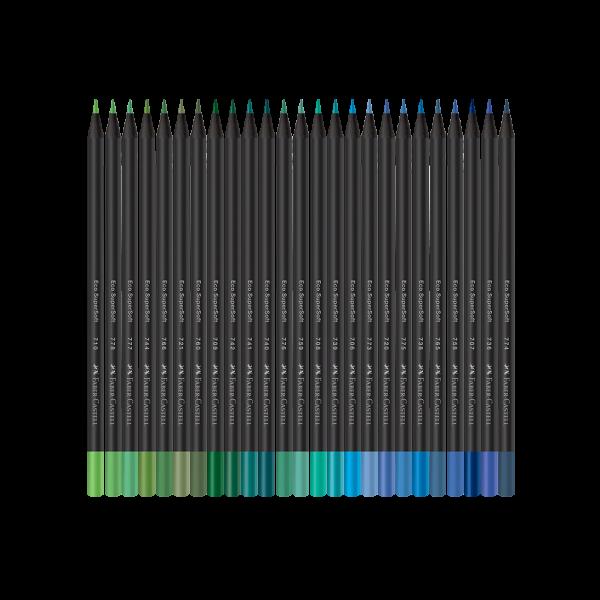 Ecolápis de Cor Faber-Castell SuperSoft 100 Cores