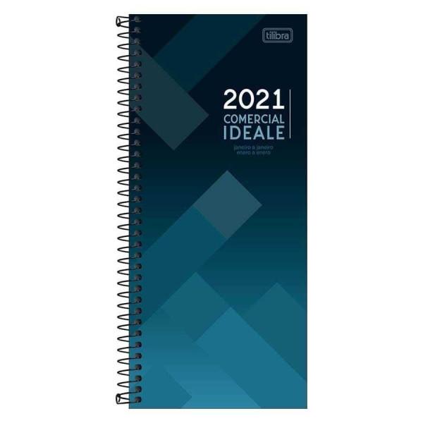 Agenda Comercial Ideale 2021 Espiral - Tilibra
