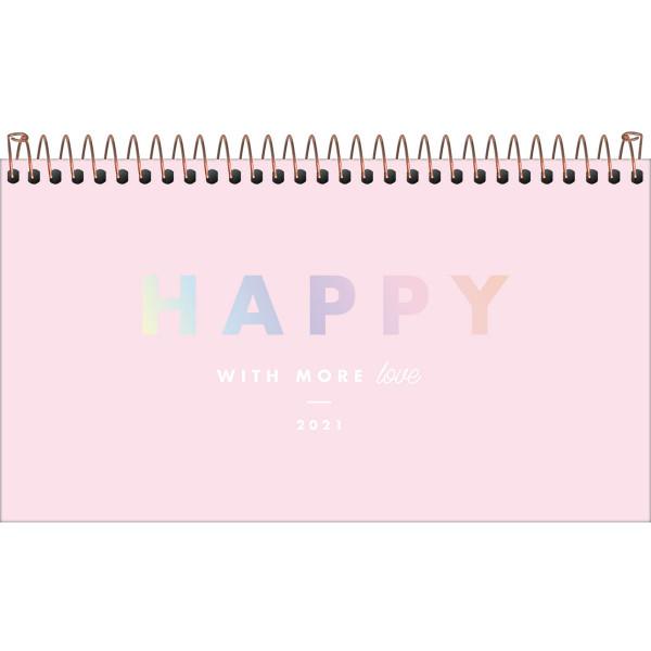 Agenda Happy Semanal De Bolso 2021 - Tilibra