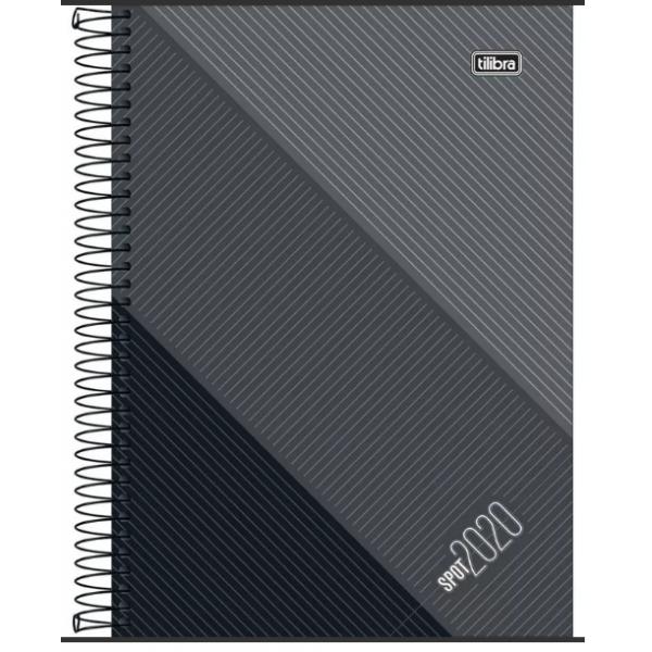 Agenda Spot 2020 Cinza M9 - Tilibra