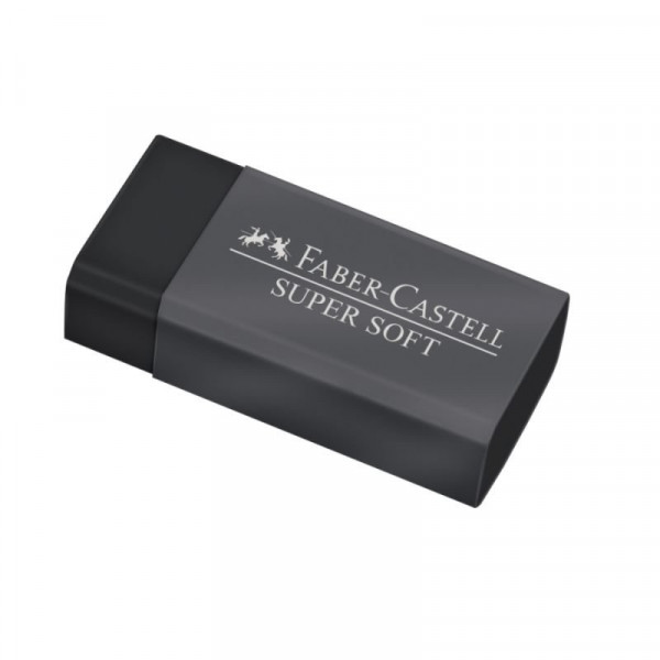 Borracha SuperSoft Faber-Castell Black