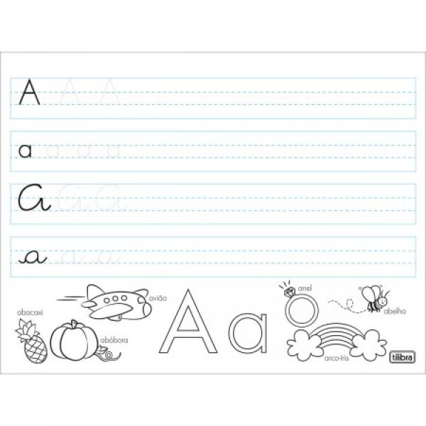 Caderno de Alfabetização - Tilibra
