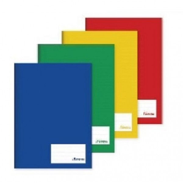 Caderno Brochura Grande 96 Folhas 5 Unidades - For...
