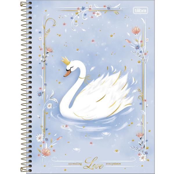 Caderno Cisne Royal 1 Matéria - Tilibra
