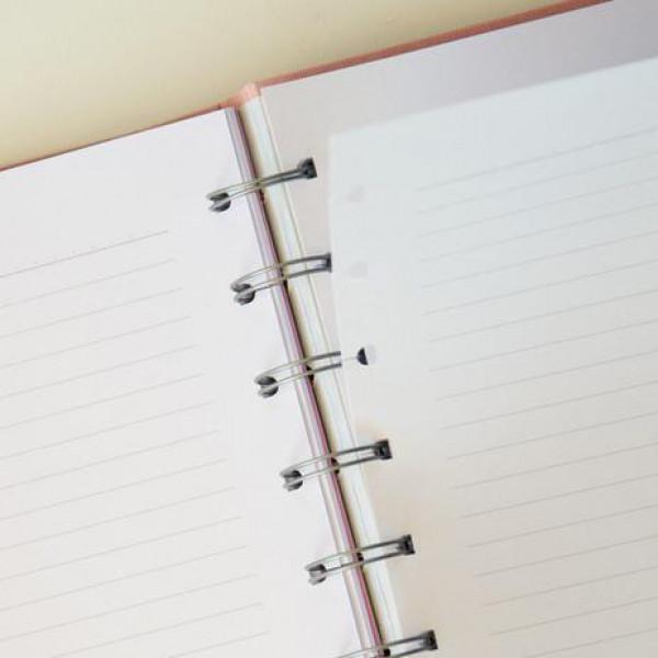 Caderno Cotton Médio Systemflex - Ótima