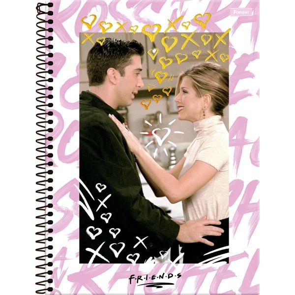 Caderno Friends 10 Matérias - Foroni