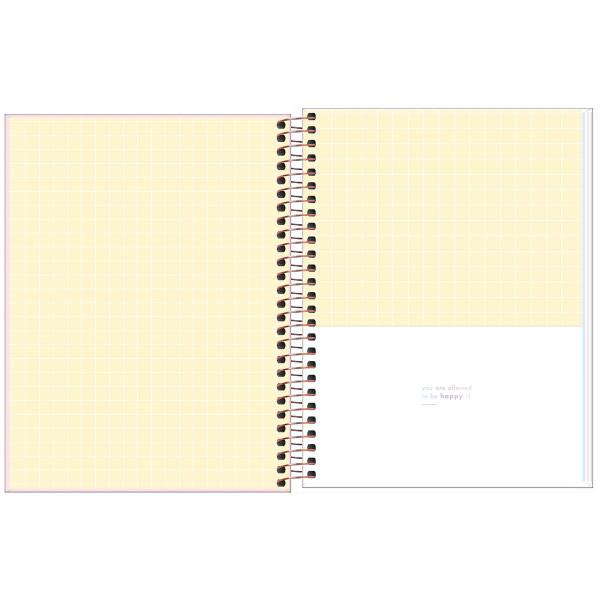 Caderno Happy Colorido Colegial 1 Matéria - Tilibra