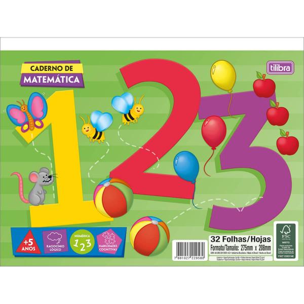 Caderno de Atividades Matemática - Tilibra