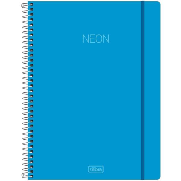 Caderno Neon 10 Matérias - Tilibra