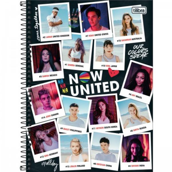 Caderno Now United 1 Matéria - Tilibra