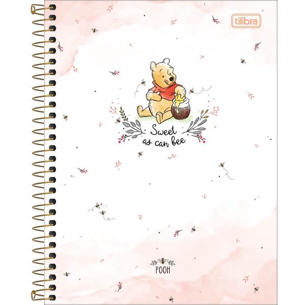Caderno Pooh Colegial 10 Matérias - Tilibra