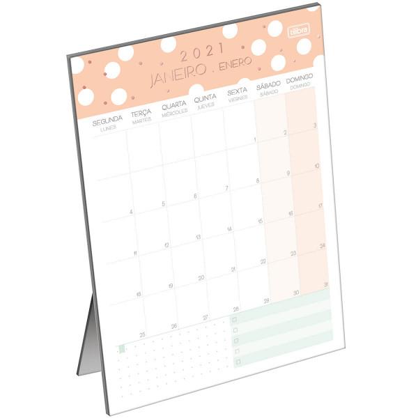 Calendário 2021 Soho Planner de Mesa - Tilibra
