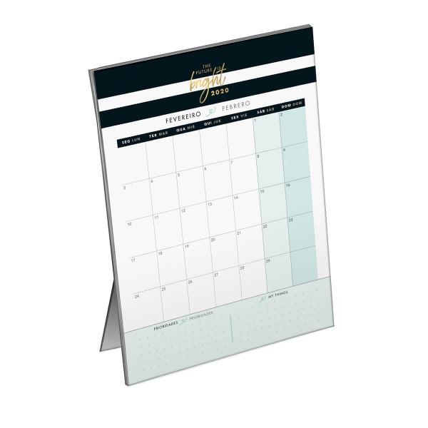 Calendário 2020 West Village Planner de Mesa - Tilibra