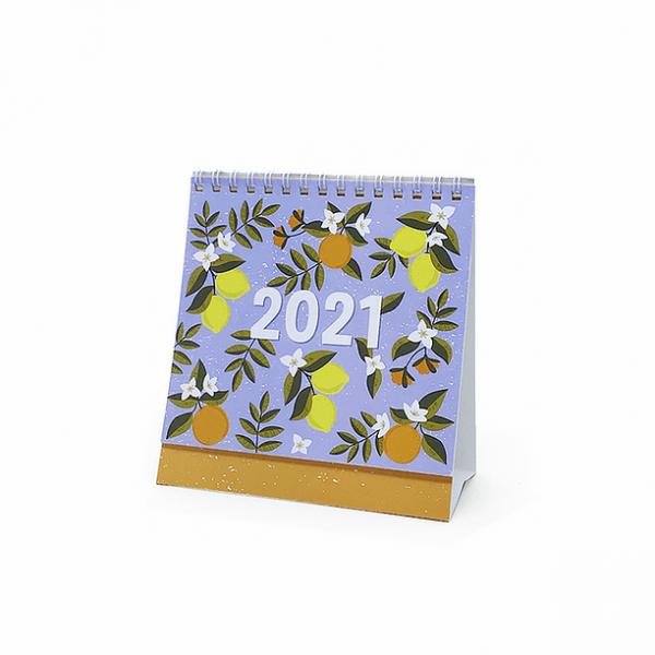 Calendário de Mesa 2021 - Cartões Gigantes