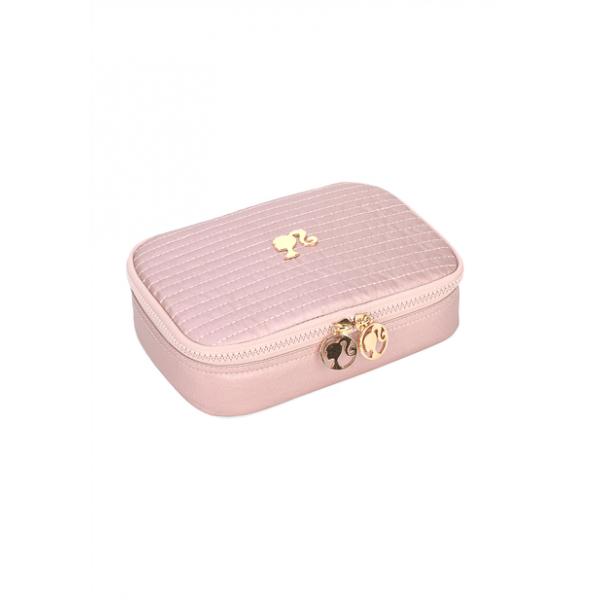 Estojo Box Metálico Barbie - Luxcel