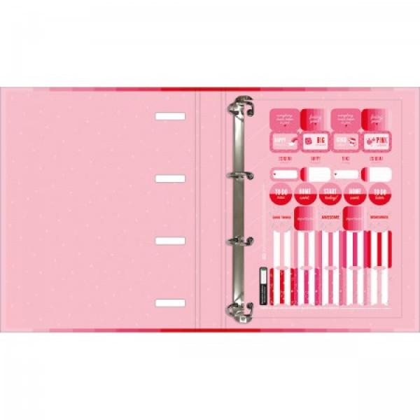 Fichário Love Pink Universitário - Tilibra
