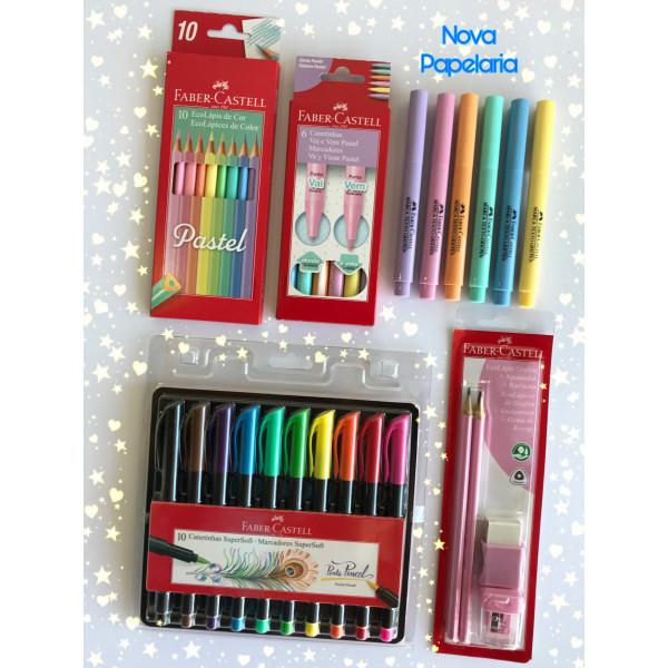 Kit Lançamentos Faber Castell - Brush Pen