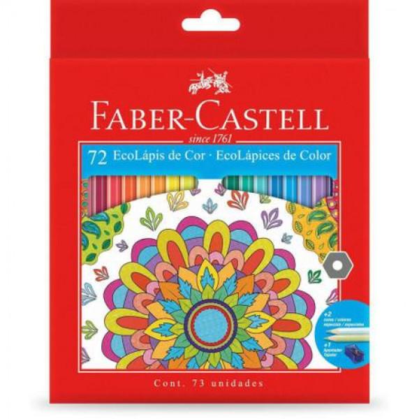 Lápis de Cor 72 Cores - Faber Castell