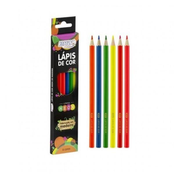 Lápis De Cor (Metálico/Pastel/Neon) - Brw