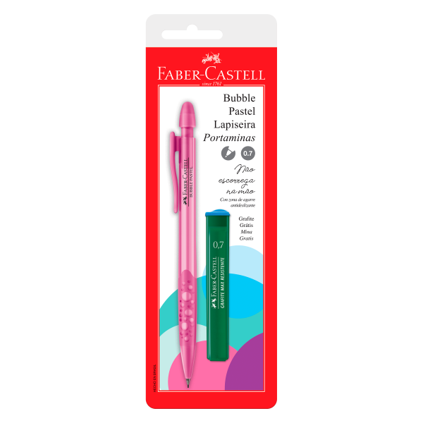 Lapiseira Bubble 0.7mm - Faber Castell