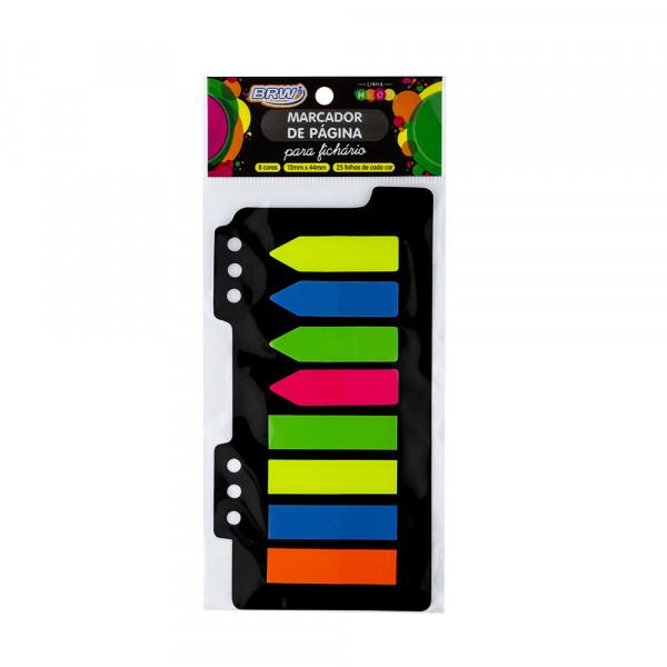 Marcador de Página Adesivo Neon - Brw