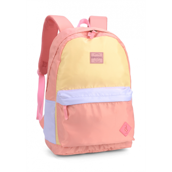 Mochila De Costas Candy Colors Up4you - Luxcel