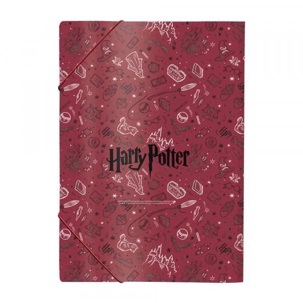 Pasta Aba Elástica A4 Harry Potter - Dac
