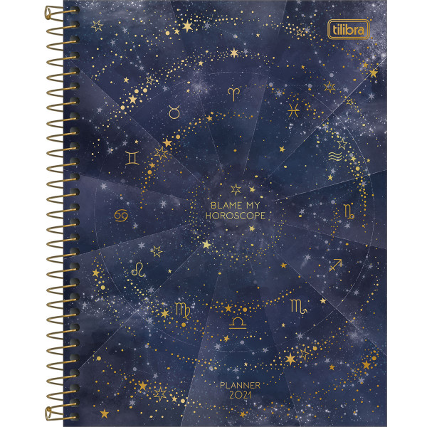 Planner Magic 2021 Espiral M7 - Tilibra