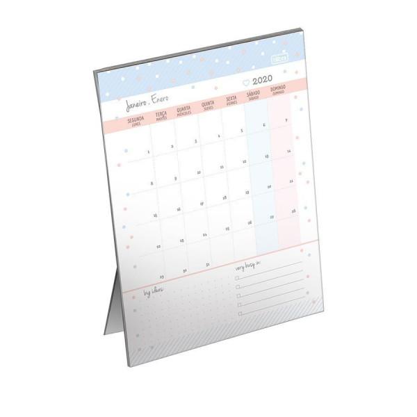 Calendário 2020 Soho Planner de Mesa - Tilibra