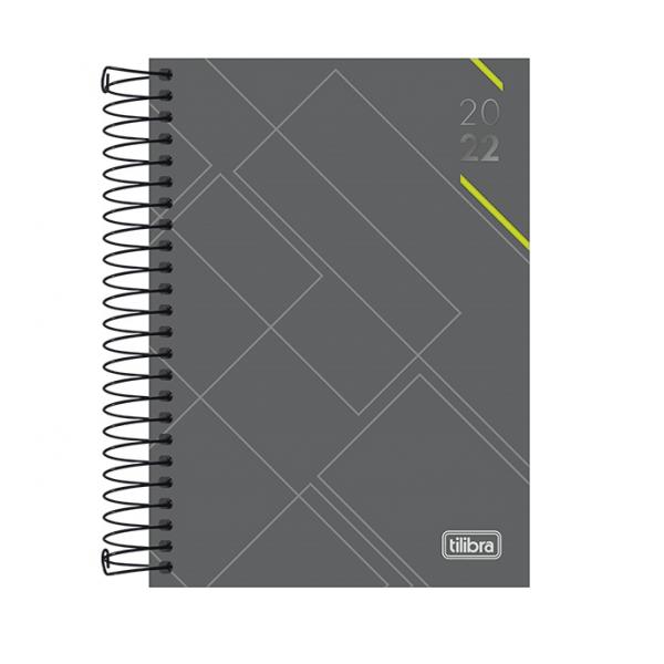 Agenda Spot 2022 Cinza M9 - Tilibra
